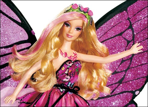Barbie Mariposa Cartoons